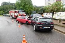 Dopravní nehoda v Úpici
