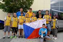 FBC LOMNICE. Tým mladších žáků veze výhru z Německa! F