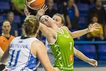 RENOMIA ŽBL basketbalistek - 7. kolo: BK Loko Trutnov - SBŠ Ostrava 75:71 po prodloužení.