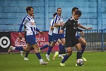 V utkání 9.kola Fortuna Divize C nestačil Náchod na soupeře z Libiše.