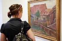 VÝSTAVU OBRAZŮ A KRESEB krajináře Antonína Slavíčka je možné v Galerii města Trutnova zhlédnout do konce srpna.