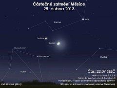 Hvězdárna umožní sledování částečného zatmění měsíce