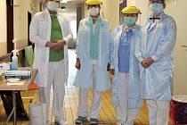 Tým oddělení dočasné hospitalizace v trutnovské nemocnici