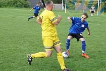 Derby mezi Vítěznou a Mostkem rozhodovaly penalty.