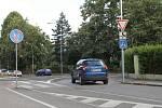 Ve Vrchlabí je hotová rekonstrukce silnice první třídy v Komenského ulici.