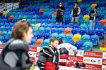 Focení týmu HC Mountfield Hradec Králové a tisková konference