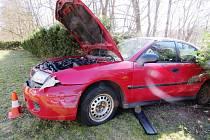 Nehoda opilého řidiče ve Svobodě nad Úpou