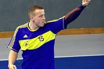 ZAŤATÁ PĚST. Junior Tomáš Tomeš potvrdil i v duelu se Strakonicemi pověst kanonýra. Druhý tým tabulky zničil 11 góly.