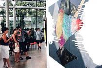 VÝSTAVU PRACÍ Veroniky Drahotové je možné v Galerii Uffo navštívit do 6. srpna.