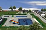 KOUPALIŠTĚ BUDE. Po loňské demolici v původním areálu má Hostinné hotový projekt i stavební povolení.