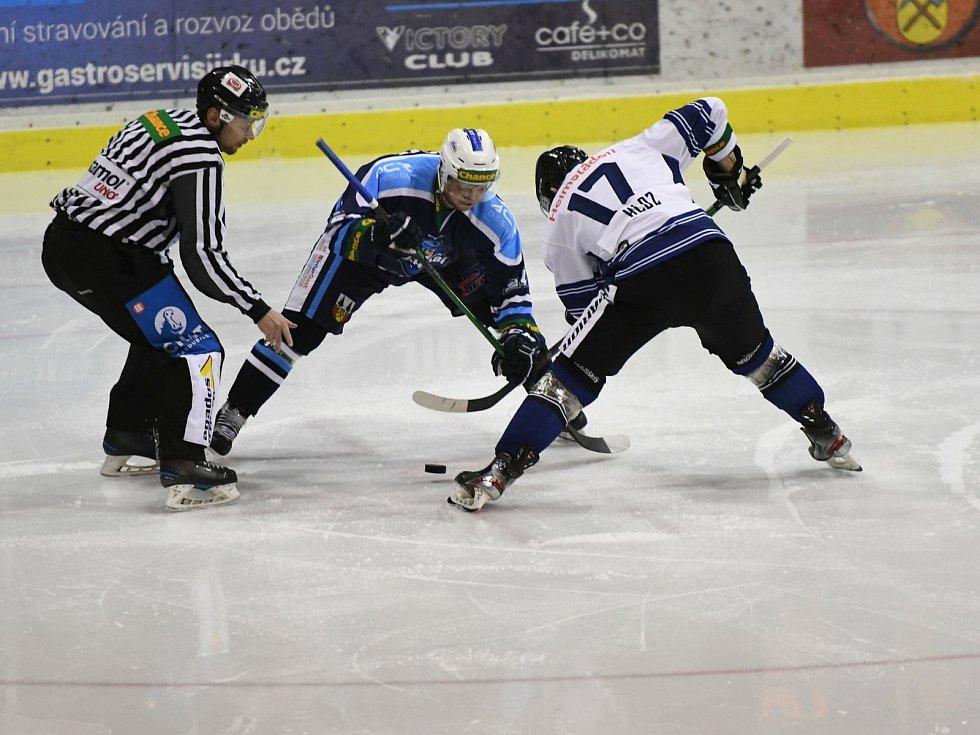 Vrchlabští hokejisté slaví další tři prvoligové body. V DD Elektromont aréně přehráli Havířov.