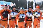 Krkonošská 70 v běhu na lyžích.