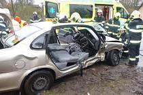 Dopravní nehoda u Chotěvic