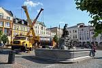 Na Krakonošově náměstí roste rozhledna