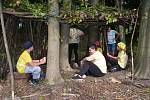 Děti na táboře v Podhradní Lhotě poznávaly život Keltů.