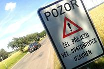 Uzavírka silnice ve Velkých Svatoňovicích potrvá do začátku srpna