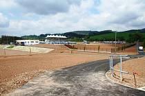 Nový fotbalový stadion ve Vrchlabí