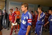 Martin Kruliš začal s fotbalem v Trutnově, už bezmála dvacet let ale hraje za Dvůr Králové nad Labem.