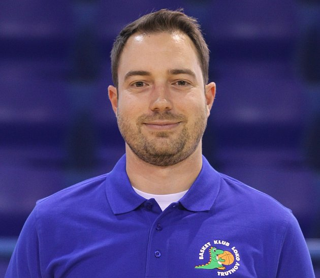 Nový kouč trutnovských basketbalistek Martin Martišek.