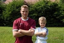 Fotbalista Radek Kotyk má ve čtyřiceti letech na co vzpomínat.