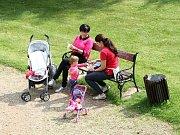Food festival - přátelský piknik v Klášterní zahradě ve Vrchlabí.