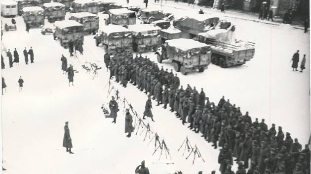 15. březen 1939: Nacistická armáda obsadila Dvůr Králové nad Labem.