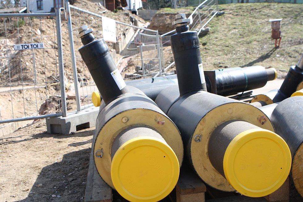 V Janských Lázních začala výstavba horkovodu, který nahradí parovod.