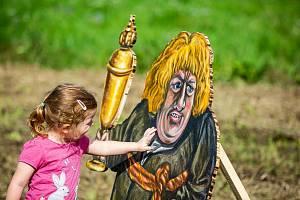 Výstava Trpaslíci v Kuksu při loňském ročníku festivalu Theatrum Kuks.