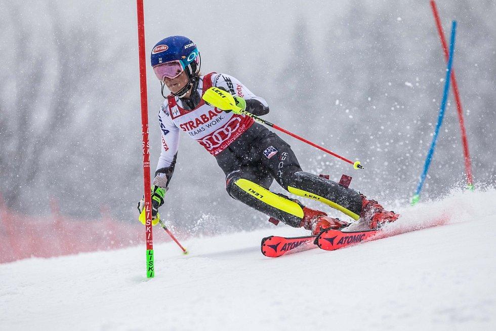 Mikaela Shiffrin, Světový pohár v lyžování ve Špindlerově Mlýně