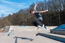 V Trutnově je otevřený také skatepark.
