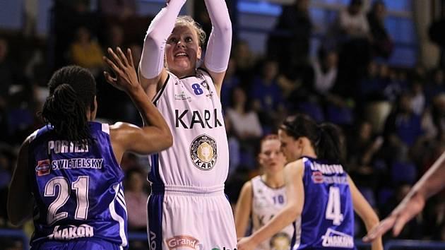 Zápasy Kary - ženské basketbalové ligy.