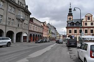 Ve Vrchlabí se rozjede v pondělí 26. července rekonstrukce Krkonošské ulice.
