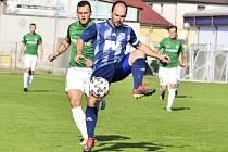 Martin Hruška v utkání s Velkými Hamry.