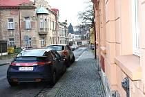 Libušina ulice ve Dvoře Králové