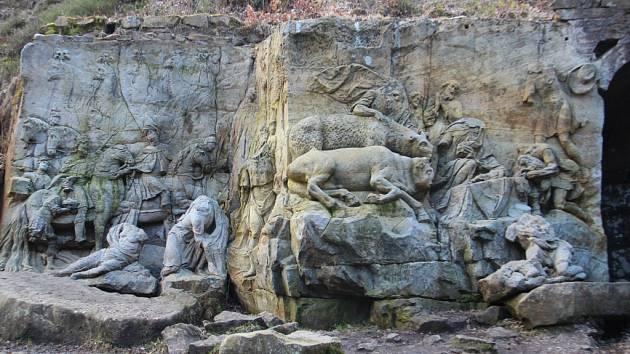Braunův betlém v Kuksu.