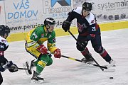 Z duelu 2. hokejové ligy Trutnov - Kolín (1:7).