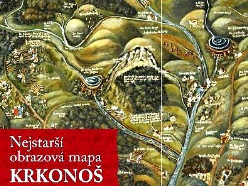 Nejstarší obrazová mapa Krkonoš