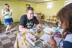 Nábor dobrovolníků do registru dárců kostní dřeně v Libotově.