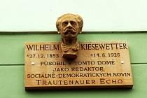 Odkrytí desky na památku Wilhelma Kiesewettera