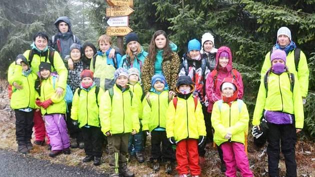 PROJEKT ŽIVOT V POHYBU přináší žákům i pedagogům v Krkonoších mnoho pěkných zážitků.