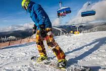 Začátek lyžařské sezóny ve Špindlu