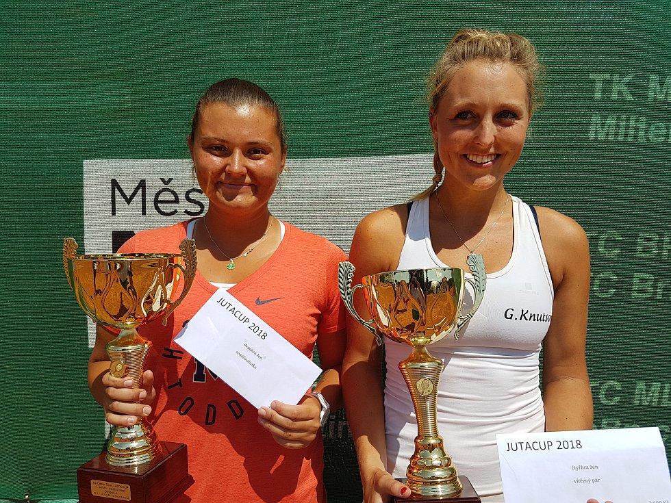 18. ročník JUTA cupu vyhrály ve čtyřhře Sabina Machalová s Gabrielou Knutsonovou.