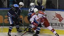 Vrchlabští hokejisté dokázali uspět ve šlágru 23. kola Chance ligy, když dobyli led Poruby.