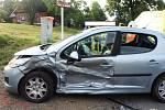 Bouračka v Huntířově, pět zraněných