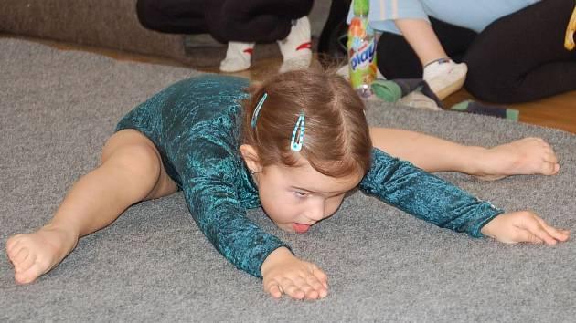Tříletá Šárinka - nejmladší účastnice