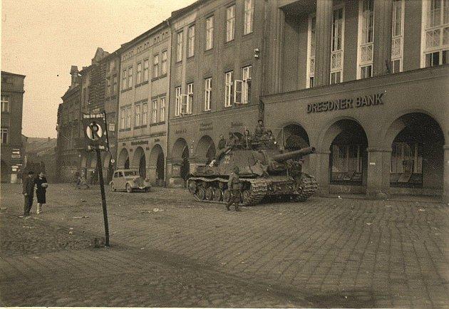 Konec 2.světové války vTrutnově.