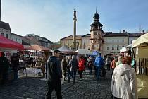 Řemeslné trhy pod obry jsou již podzimní tradicí.