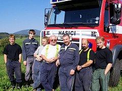 Dobrovolní hasiči z Horního Starého Města
