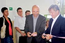 Z otevření sociální rehabilitačního centra ve Vrchlabí