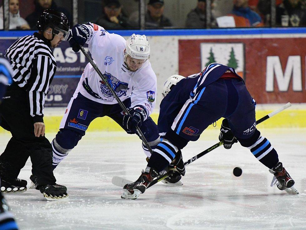 Vrchlabští hokejisté v derby ukončili sérii porážek ze vzájemných soubojů s Trutnovem.